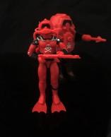 Black Major Red Shadows Eel and SNAKE Armor - Surveillance Port 02