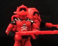 Black Major Red Shadows Eel and SNAKE Armor - Surveillance Port 03