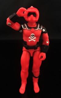 Black Major Red Shadows Eel and SNAKE Armor - Surveillance Port 05