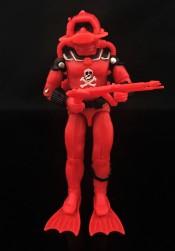 Black Major Red Shadows Eel and SNAKE Armor - Surveillance Port 07