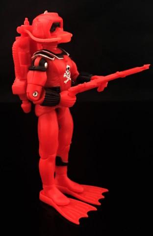Black Major Red Shadows Eel and SNAKE Armor - Surveillance Port 09