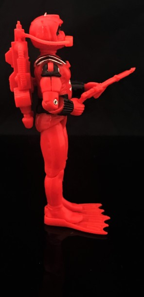 Black Major Red Shadows Eel and SNAKE Armor - Surveillance Port 10