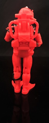Black Major Red Shadows Eel and SNAKE Armor - Surveillance Port 11
