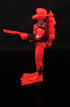 Black Major Red Shadows Eel and SNAKE Armor - Surveillance Port 12