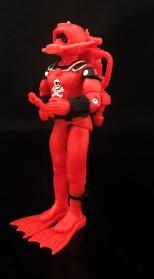 Black Major Red Shadows Eel and SNAKE Armor - Surveillance Port 13