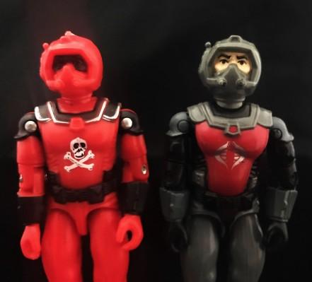 Black Major Red Shadows Eel and SNAKE Armor - Surveillance Port 20