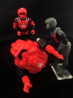 Black Major Red Shadows Eel and SNAKE Armor - Surveillance Port 23