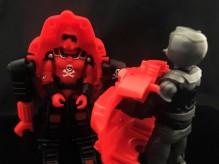 Black Major Red Shadows Eel and SNAKE Armor - Surveillance Port 24