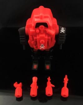 Black Major Red Shadows Eel and SNAKE Armor - Surveillance Port 26
