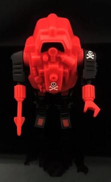 Black Major Red Shadows Eel and SNAKE Armor - Surveillance Port 27
