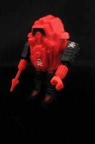 Black Major Red Shadows Eel and SNAKE Armor - Surveillance Port 28