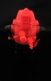 Black Major Red Shadows Eel and SNAKE Armor - Surveillance Port 35