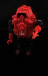 Black Major Red Shadows Eel and SNAKE Armor - Surveillance Port 37