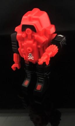 Black Major Red Shadows Eel and SNAKE Armor - Surveillance Port 38