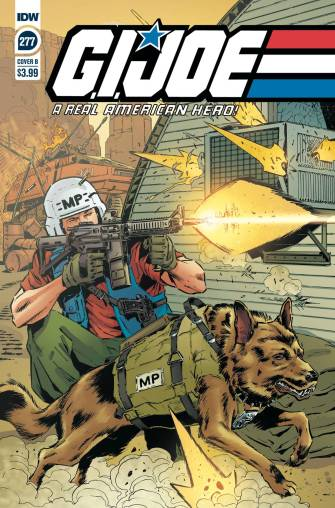 IDW Publishing GI Joe ARAH 277 Cover B - Surveillance Port