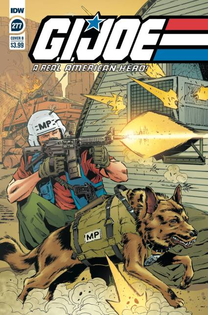 IDW Publishing GI Joe ARAH 277 Cover B - Surveillance Port