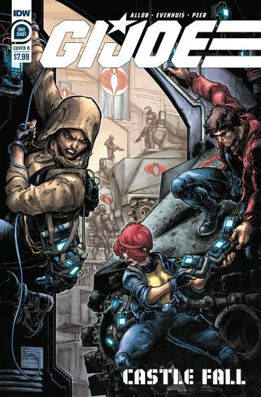 IDW Publishing GI Joe Castle Fall Cover B - Surveillance Port